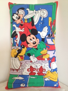 Mickey, Pluto and Goofy (Disney) doing the washing up - sold