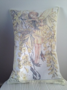 Laburnam Flower Fairy (linen)