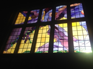 Old Barn Church Stained Glass Windows