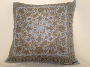 Liberty of London Paisley Sky Blue (commissioned and sold)