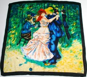 Renoir silk scarf