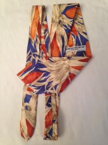 Giorgio Incontri Italian handpainted silk