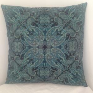 Turquoise Paisley