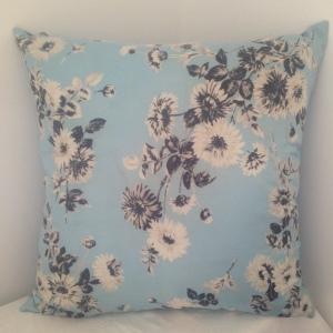 Fifties Blue Flowers Jacqmar