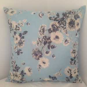 Fifties Blue Flowers Jacqmar
